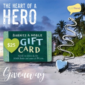 Description: The Heart of a Hero JustRead Giveaway