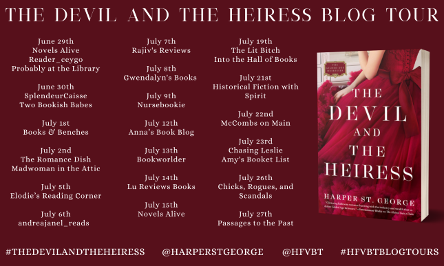 The Devil and the Heiress_Blog Tour Banner
